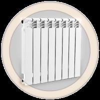 Отопительный биметаллический радиатор