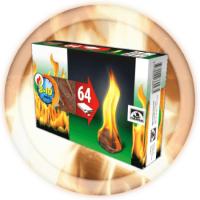 Разжигатели огня (64 шт.)