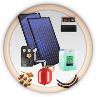 Солнечная водонагревательная установка ZSH-2 duoSOL без теплообменника