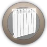 Алюминиевые радиаторы отопления Varmega Almega 80/500