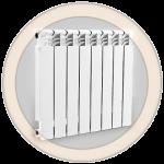 Биметаллические радиаторы отопления Varmega Bimega 500/100