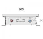 Конвектор ВК.90.300.2500.4ТГ Конвектор высота 90 мм ширина 300 мм длина 2500 мм