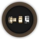 Соединение многослойной трубы PEX