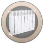 Алюминиевые радиаторы отопления Varmega Almega 80/350