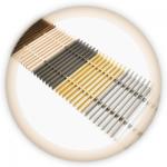 Решетка анодированный алюминий с шагом 10 мм.(ширина 270-600 мм.)