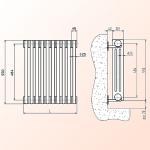Стальные трубчатые радиаторы отопления Радстал