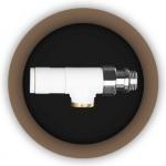 Вентиль радиаторный угловой Tondera 0624