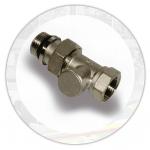 Клапан-отсекатель для радиатора отопления прямой 1/2''