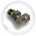 Вентиль-отсекатель для радиатора инспекционный угловой 3/4''