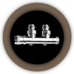 Вентиль с термостатической головкой Tondera 0681