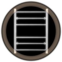 Водяной полотенцесушитель Wellmer PLAIN 700-6