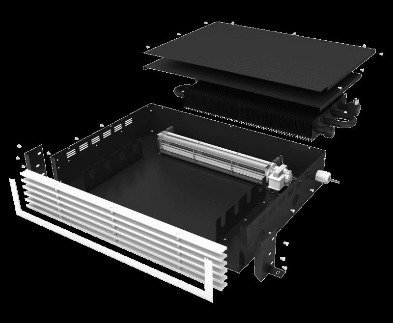 Мебельный конвектор отопления