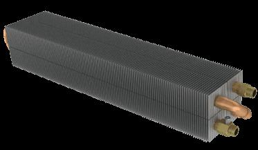 Конвекторы напольные водяные КНВ теплообменник